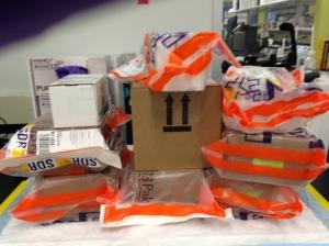 Looks like FedEx arrived!