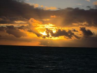Sun rise day 3