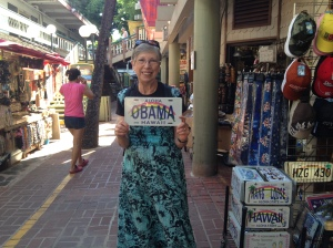Obama License Plate