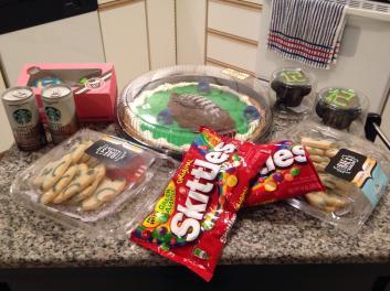 Skittles taste the Beast Mode