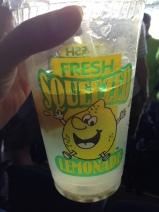 Lemonade with a whole lemon!