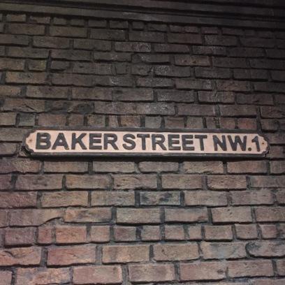 street sign to Sherlock's house